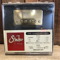 Suhr SSV Humbucker Guitar Pickup, Bridge Position, 53mm Spacing, Gold Cover