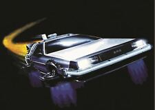 BACK TO THE FUTURE THE DELOREAN POSTER PICTURE WALL ART PRINT A3 AMK2312