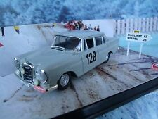 1/43 Vitesse (Portugal) Mercedes 220 SE winner Monte Carlo rallye 1960