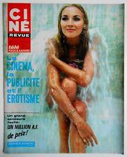 ►CINE REVUE 50/1967-CHARLTON HESTON-MAXIMILIAN SCHELL-JANE RUSSELL-CLAUDIN AUGER