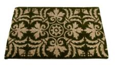 Tag Fleur Coir Welcome Doormat PVC Backed Mat Green 30 by 18
