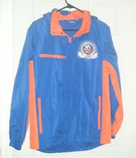 New York Islanders NHL Reebok Hooded Windbreaker 40th Anniversary Size Sm Used