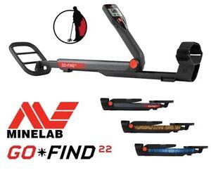 Minelab GO-FIND 22. Metalldetektor Metallsonde Metallsuchgerät