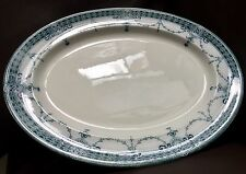 """Rare Antique Wood & Sons """"Imperial"""" Registered Design 11""""/28cm Porcelain Platter"""