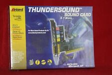 Inland Thundersound, 4.1 Wave, Digital 3-D Position Effects, PCI Sound Card