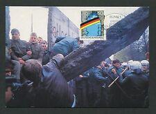 BUND MK BERLIN MAUER ÖFFNUNG WALL MAXIMUMKARTE CARTE MAXIMUM CARD MC CM d2151