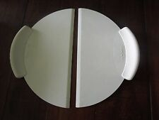 Pampered Chef LIFT & SERVE Mega Cake Pizza Lifters Set of 2  #2125
