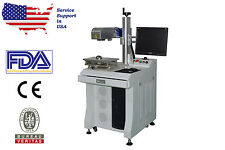 Best 30W 3D MOPA Fiber LASER MARKER/MARKING/ENGRAVING Support 1Yr Warranty / USA