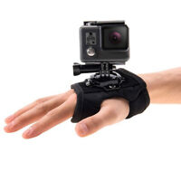 Hand Wrist Arm Strap 360-Degree Rotation Mount Parts Set for Gopro Action Camera