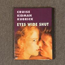 Eyes Wide Shut (Dvd, 2000) Tom Cruise Nicole Kidman
