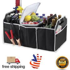 Trunk Organizer Storage Bin Bag Collapsible Fold Grocery Caddy Car Truck Auto