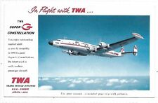 TRANS WORLD AIRLINES Super G Constellation