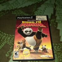 Kung Fu Panda - Tested + Works! Free Shipping! (Sony PlayStation 2, 2008)