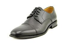 Miko Lotti Men's Faux Leather Oxfords Black Shoes ( G01105 ) - Size 10