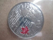 War of 1812 Charles -Michel de Salaberry 2013 Canada 25 Cent ($0.25) Coloured