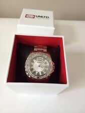 NIB Marc Ecko Men's UNLTD silver Watch