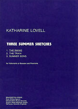 The Swing Three Summer Sketches Learn to Play Cello Bassoon Piano Music Book