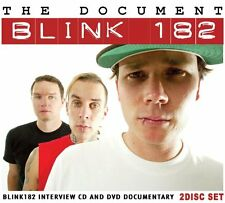Blink 182 The Document - INTERVIEW AND DOCUMENTARY CD AND DVD SET