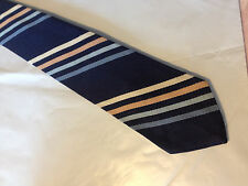 Mens Blue Brown White Tie Necktie EL HOMBRE~ FREE US SHIP (9382)