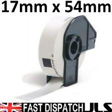 3 X Rollos De 17mm X 54 Mm dk11204 Ql500 Ql 550 560 570 1060 hermano dk-11204 Etiquetas