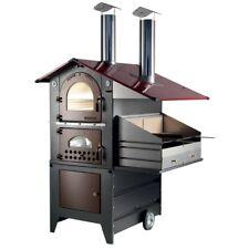 Forno a legna Gemignani a fuoco indiretto da esterno mod. G70 Barbecue