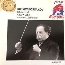 Rimsky-Korsakov Scheherazade Antar Sadko SFSO Monteux ED #11