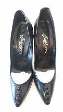 """Court Shoes """"Black"""" - Top Buttons Juan Shoes T.39"""