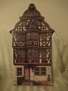 "c1996 Kreuter ""Killingerhaus"" Traditional German Paper Advent Calendar"