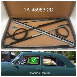 ACC Replacement Carpet Kit for 1951 Ford Custom 501-Black 80//20 Loop 2 Door Sedan