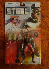 Superman's Vapor Trail STEEL Superman action figure 1997 moc