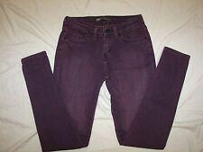 Levi's 535 Legging Stretch Jeans - Jrs. 5 - Purple Denim