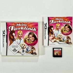 Nintendo DS Spiel MEINE TIERKLINIK dt Tierärztin/Katzen/Hunde/Pferde/Fohlen