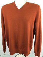 Banana Republic Sweater (M) Men's 100% Extra Fine Merino Wool V Neck Sweater