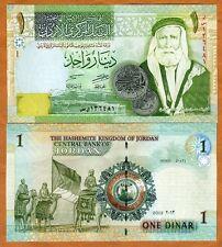 Jordan, 1 Dinar, 2013, P-34g, UNC > Great Arab Revolt