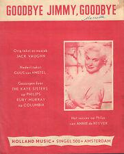 ANNIE DE REUVER - GOODBYE JIMMY, GOODBYE (BLADMUZIEK / 1959)
