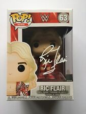 Autographed Funko Pop Ric Flair 63 JSA Witnessed