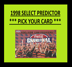 1998 SELECT SIGNATURE PREDICTOR *** PICK YOUR CARD *** PREMIERSHIP PREMIERS
