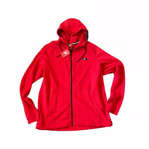 Nike Mens Red Zip Up Hoodie XXL
