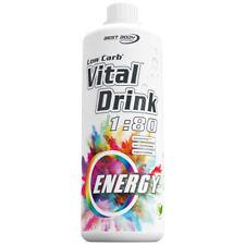 Energy Energie Mineraldrink Nutrition Getränkekonzentrat Low Carb Vital Drink 1L