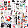 Party Props Funny Photo Booth Moustache Selfie Birthday Wedding Christmas