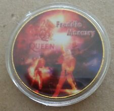 Freddie Mercury Queen Pop & Rock Music 24K Gold Plated Memorabilia Coin #18S