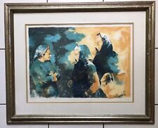 """AUTHENTIC SIGNED LITHOGRAPH VICTOR VIKO """"GREECE"""" No. 7/200 WITH COA"""
