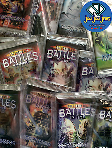 Dr Doctor Who Battles in Time Cards - SEALED BOOSTER PACKS PACKETS - ALL SETS