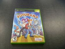 Futurama (Microsoft Xbox, 2003)   Complete With Manual