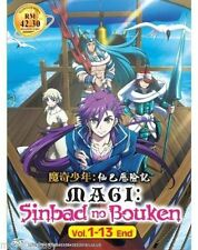 Magi: Sinbad no Bouken (Vol.1-13 end) with English subtitles