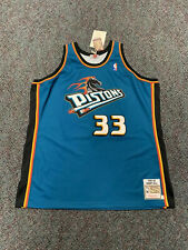 Mitchell Ness Detroit Pistons New Authentic Grant Hill Horse Jersey 56 Vintage