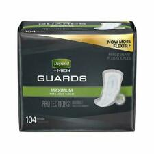 Depend Incontinence MAXIMUM Absorbency Pads for Men 104 Count