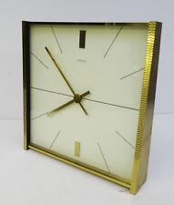 mid century design clock 60s - Grosse edle Tischuhr Kienzle Automatic Uhr 60er