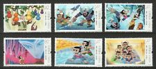 P.R. OF CHINA 2020-12 CALABASH BROTHERS CHINESE ANIMATION COMP. SET 6 STAMP MINT