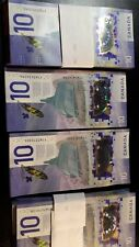 CANADA ~ 2018 $10 Note with VIOLA DESMOND and HUMAN RIGHTS - IN STOCK
